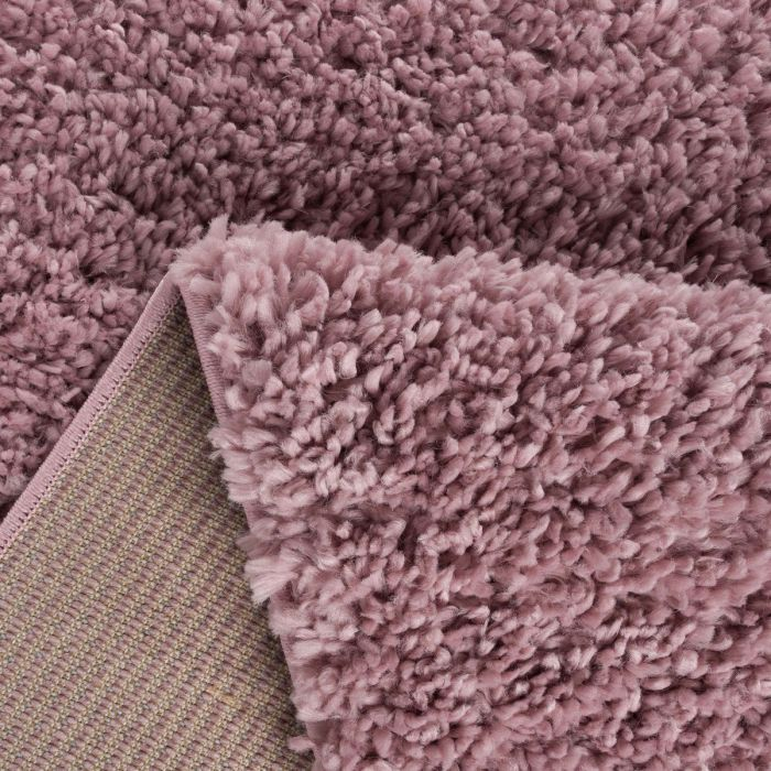 Kurzflor Shaggy Teppich | Feel Good Rosa 30 mm | MY1800 ETHNO 1800 PINK/PINK Kinderzimmer