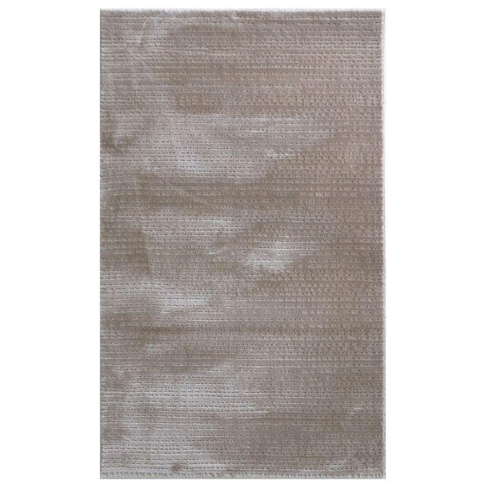Designer Teppich Beige | Linierte 3D Struktur MY4131 Art-4131-Beige Schlafzimmer