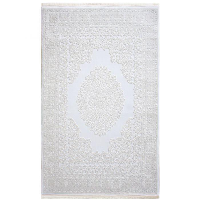 Alle Artikel Designer Teppich Weiss | 3D Struktur Muster MYP4212R