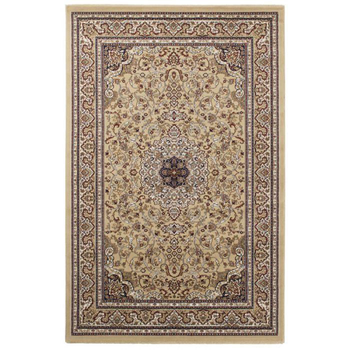 Orientteppich Medaillon Beige | Orientalischer Klassik Design MY802 Excellent-802-Beige Schlafzimmer
