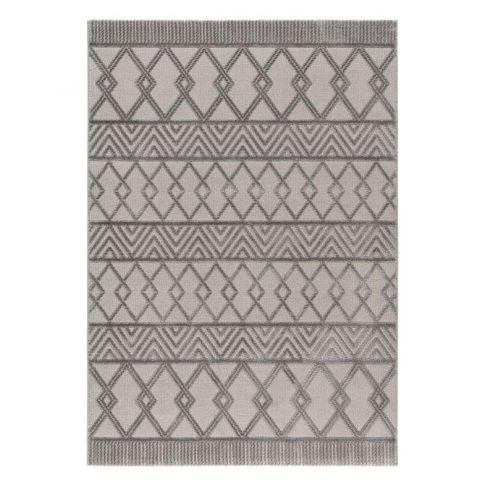 Designer Teppich 3D Skandi Illusion in Grau | MY6200S Luxury-6200-grau Aktuelle Trends-Jetzt Teppich vorbestellen