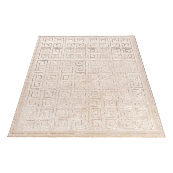 Designerteppich Pattern Versace in beige | MY703 Lara-703 Aktuelle Trends Golden Collection Designerteppich