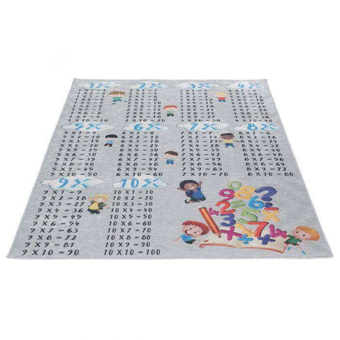 Waschbarer Kinderzimmer Teppich | Lernteppich Zahlen MY4050 Caimaz-4050 Kinderzimmer