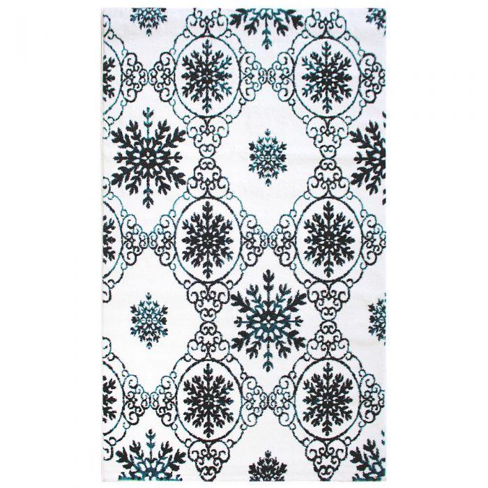 Küche Kurzflor Teppich Türkis | Moderne Pastell Farben | MY310A