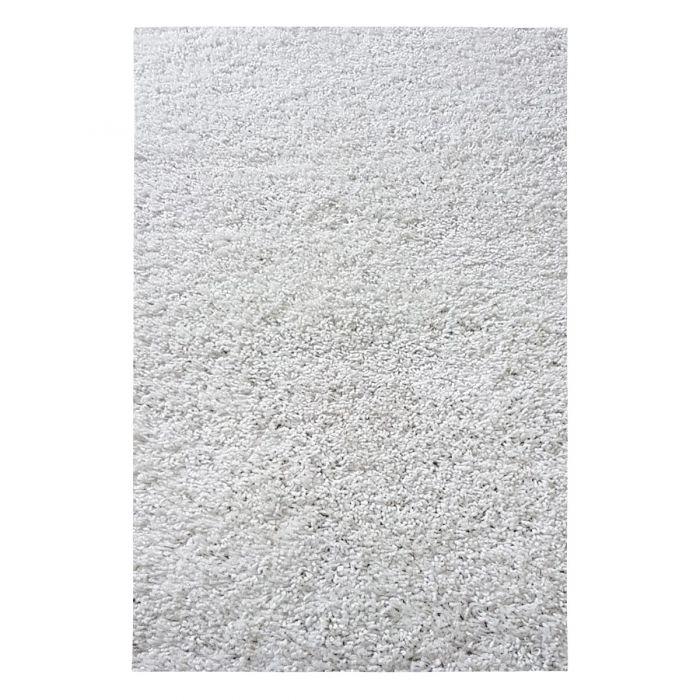 30 mm | Shaggy Hochflor Teppich Creme | Einfarbig Uni MY380 MyShaggy-380-Cream Schlafzimmer