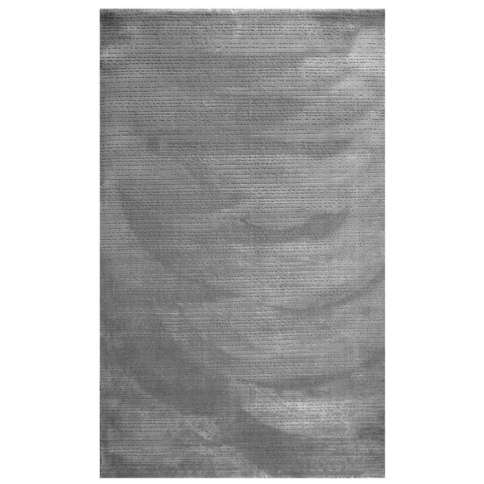 Aktuelle Trends Inspirieren Designer Teppich Grau   Linierte 3D Struktur MY4131G