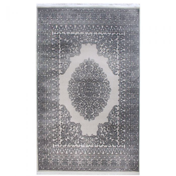 Designer Teppich Grau | 3D Struktur Muster MYP4212S ArtPrem-4212-Grau Alle Artikel