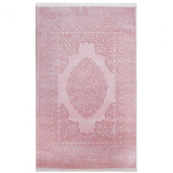 Designer Teppich Rosa | 3D Struktur Muster MYP4212RO ArtPrem-4212-Rosa Alle Artikel