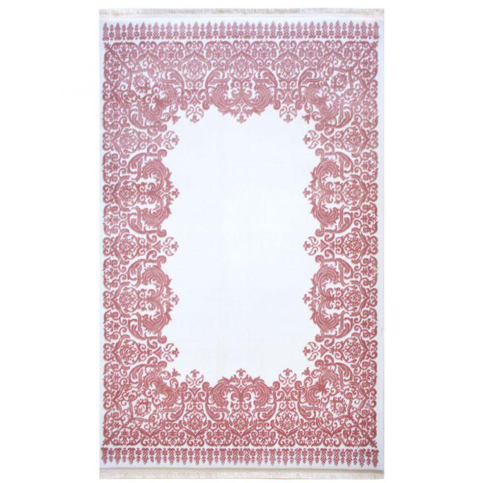 Designer Teppich Rosa Creme | 3D Vintage Barock MYP4286 ArtPrem-4286-CreamPink Aktuelle Trends - Aktuelle Angebote