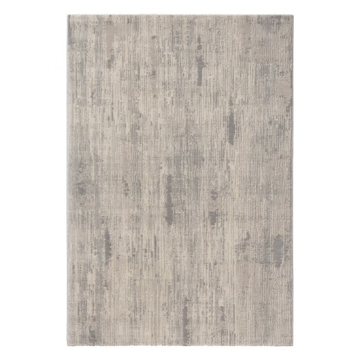 Kurzflor Designer Teppich Vintage mit Baumwollerücken | MY6610S Amatis-6610-grau Vintage Patchwork Muster