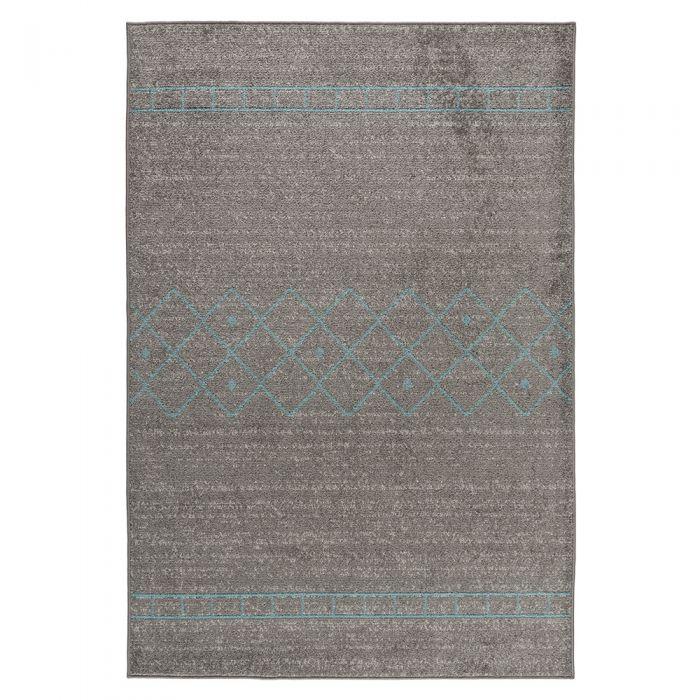 Teppich Kurzflor Türkis | Trend Skandi Design MY1770 Medusa-1770-Türkis Teppich Wohnzimmer