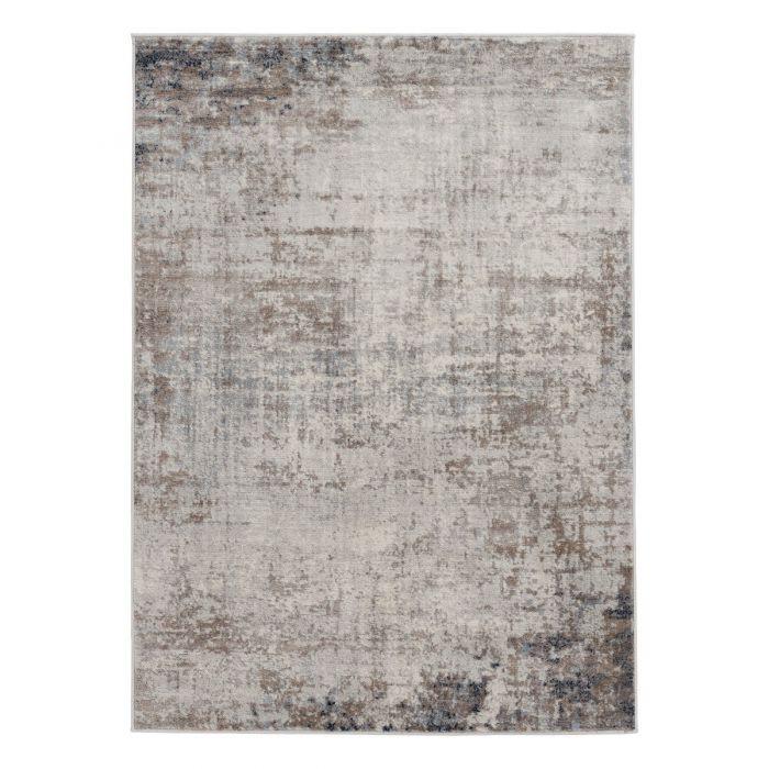 Vintage Teppich Kurzflor Braun | Rustik Skandi Style | MY3718 Montana 3718 brown Vintage Patchwork Muster