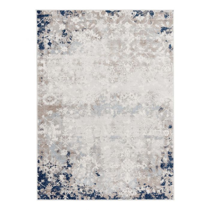Vintage Teppich Kurzflor Blau | Used Look Skandi Style | MY3720 Montana 3720 brown Alle Artikel