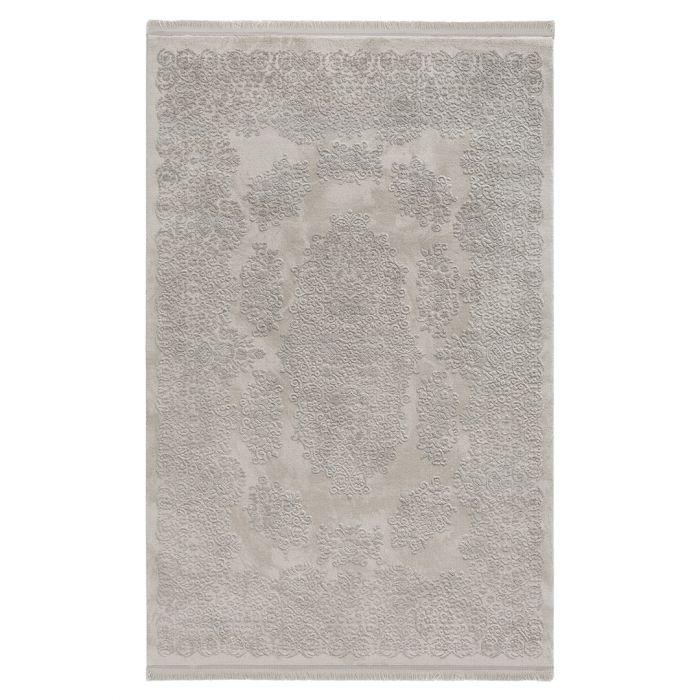 Moderner Designer Teppich Acryl in Grau | 2501 HAR-2501 Aktuelle Trends Inspirieren