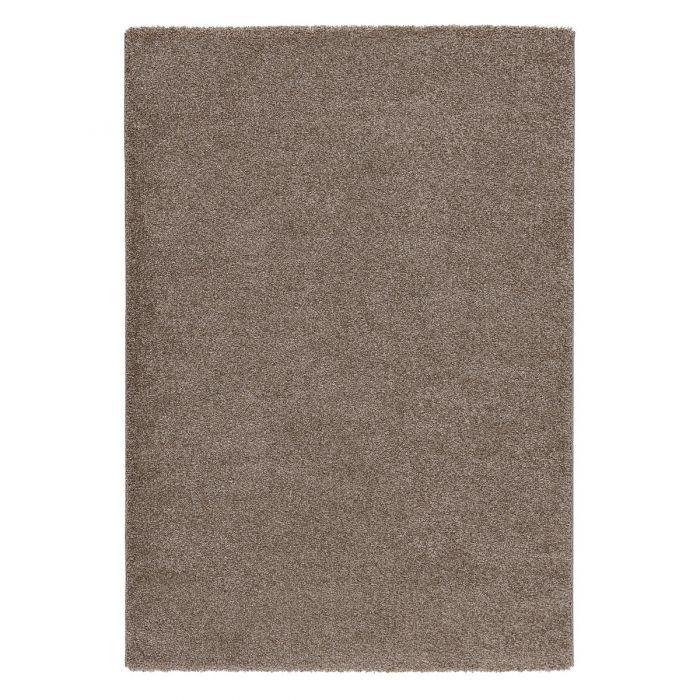 Gepunktete Muster Hochwertiger Kurzflor Wohnzimmerteppich | Beige Cream gepunktet | MY181J