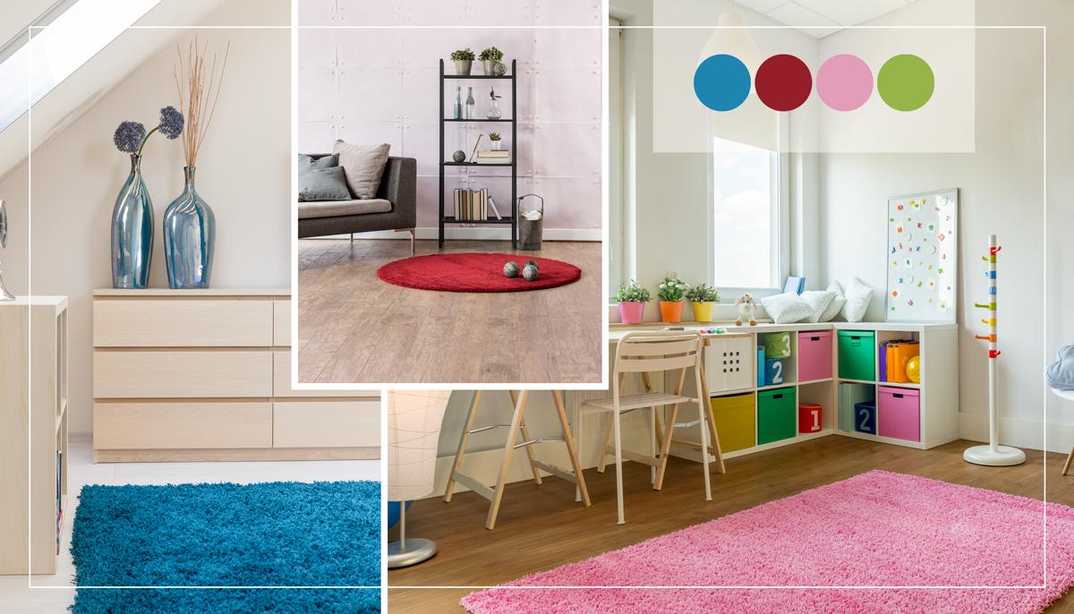 Bunte / Mehrfarbige Teppiche