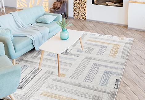 Kurzflor Teppiche