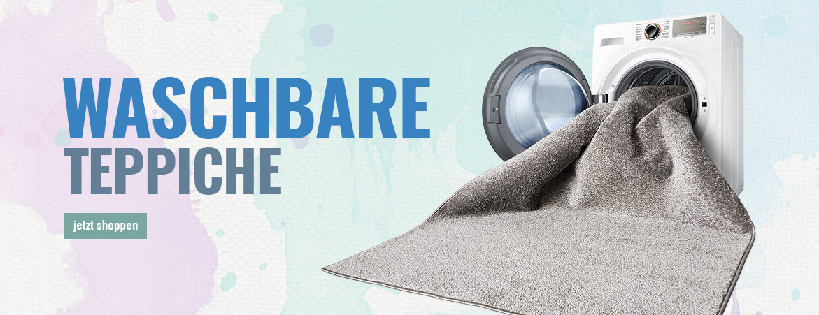 Waschbare Teppiche Waschmaschinengeeignet
