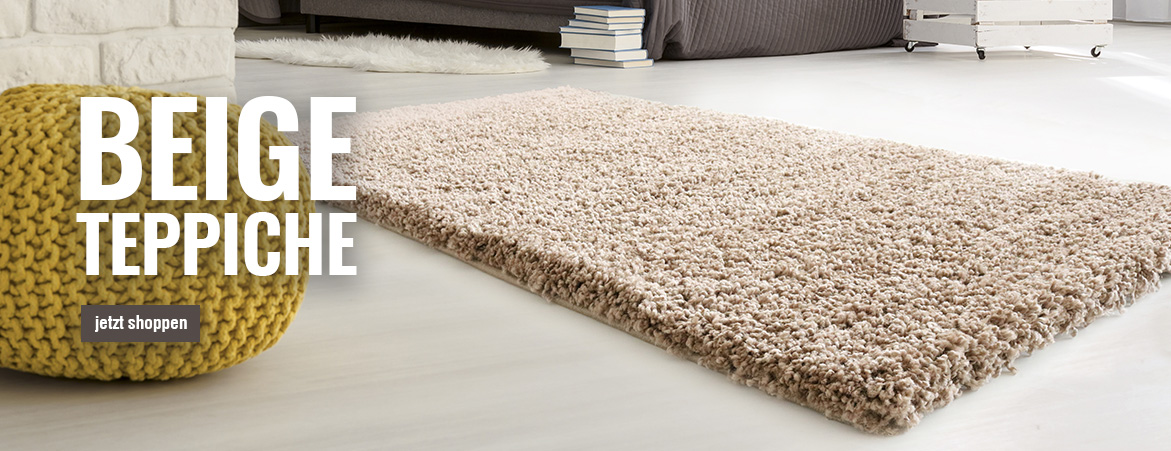 Teppiche in Beige