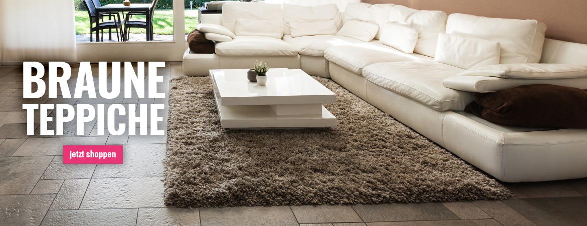 Teppiche in Braun