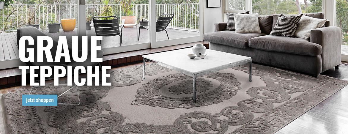 Teppiche in Grau