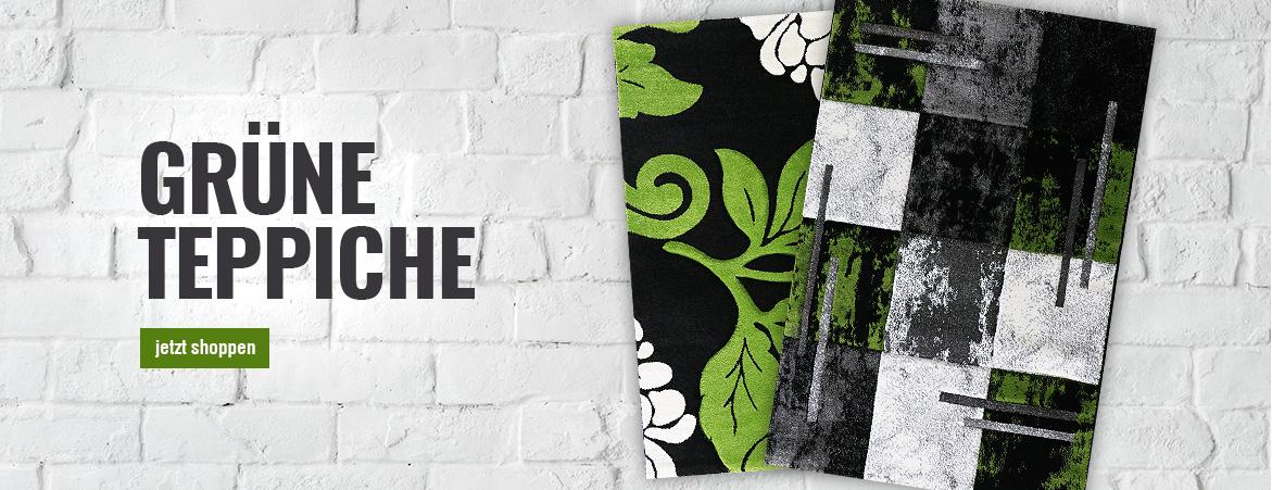 Teppiche in Grün