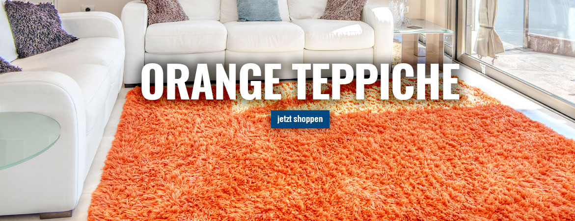 Teppiche in Orange