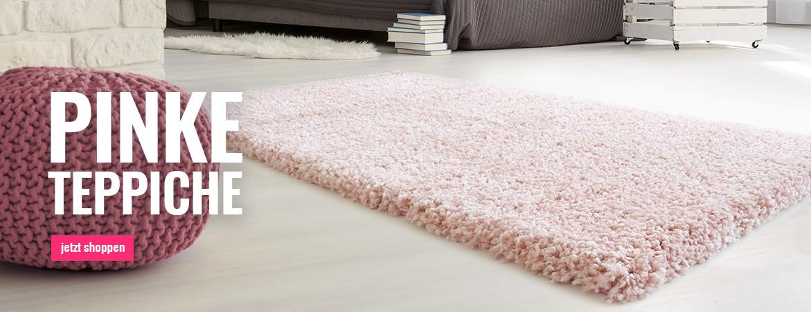 Teppiche in Rosa