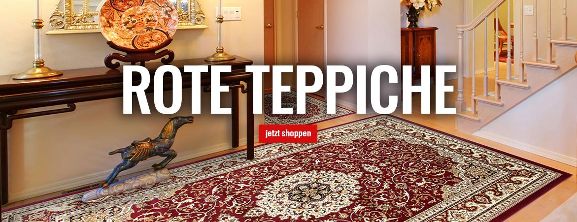 Teppiche in Rot