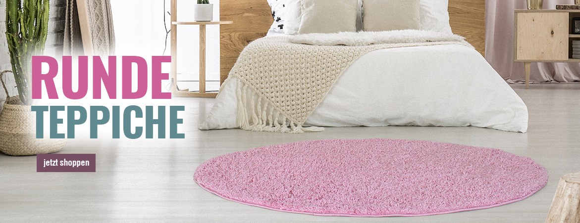 Teppiche in Rund 120 cm