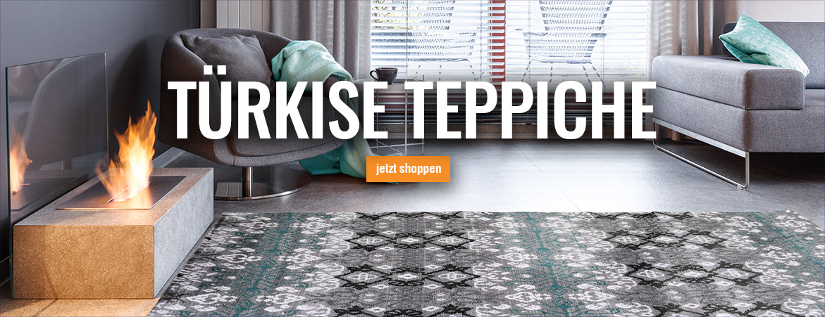 Teppiche in Türkis