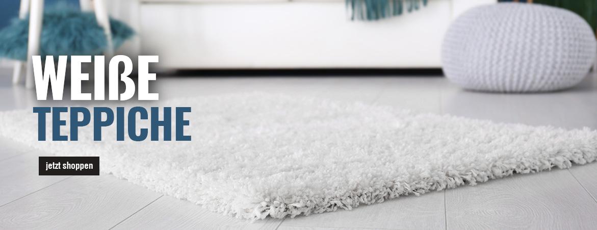 Teppiche in Weiß