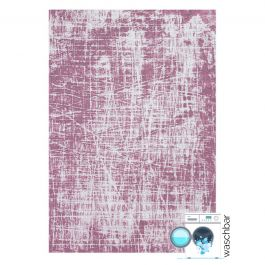 waschbarer teppich baumwolle antibakteriell pattern rosa my6922. Black Bedroom Furniture Sets. Home Design Ideas