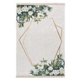 waschbarer teppich antibakteriell in creme gr n gold my5900. Black Bedroom Furniture Sets. Home Design Ideas