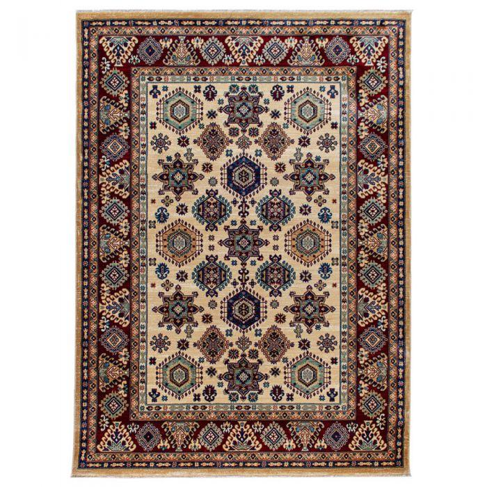 Hochwertiger Orientteppich Seidenimitat | Kurzflor Cream MY1349 Ornament 1349/010 cream Schlafzimmer