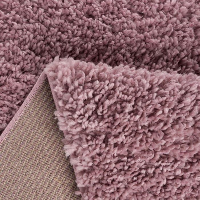 Kurzflor Shaggy Teppich | Feel Good Rosa 30 mm | MY1800 ETHNO 1800 PINK/PINK Kinderzimmer