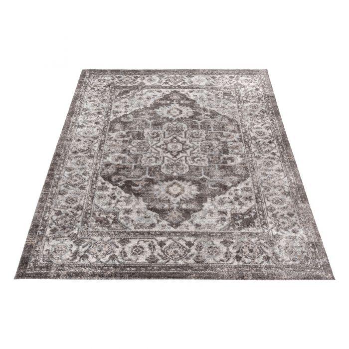 Vintage Teppich Antares Grau Beige A4050