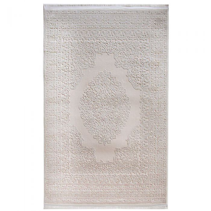 Designer Teppich Beige | 3D Struktur Muster MYP4212J ArtPrem-4212-Beige Alle Artikel
