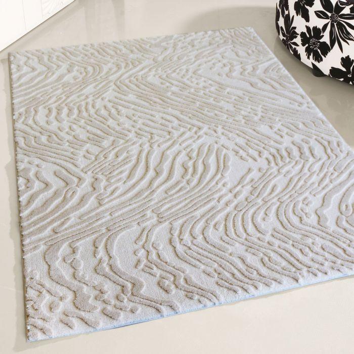 Designer Teppich Weiss | Strukturiertes 3D Design MY4216 Art-4216-Cream Alle Artikel