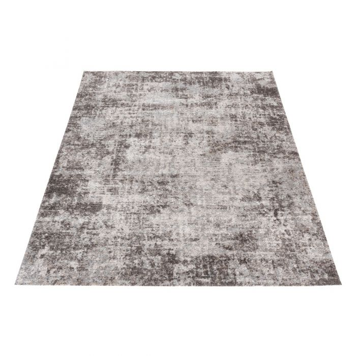 Vintage Teppich Antares Grau Meliert A5050