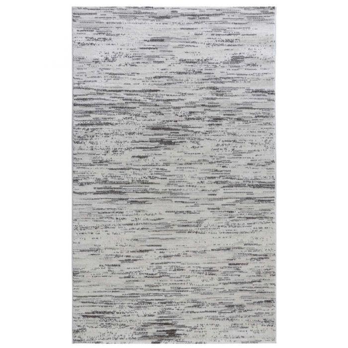 Teppich Wohnzimmer Modern Grau | Gepunktetes Muster Konturenschnitt MY7406G Trend-7406-Grau Aktuelle Trends Inspirieren