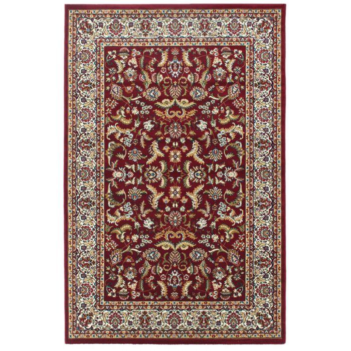 40x60 cm Orientteppich Rot Orientalisch Durchgemusterte Bordüre MY804