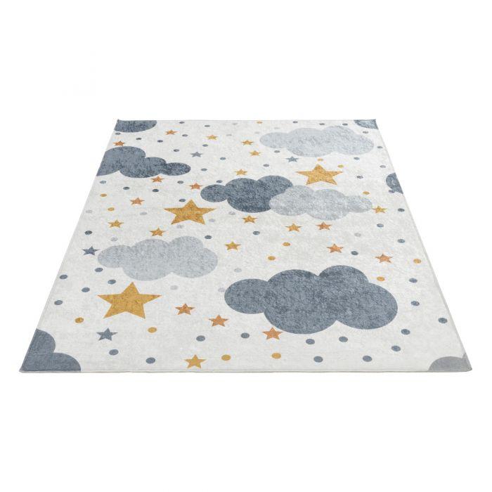 Waschbarer Kinderteppich Wolken| Kids Modern | MY4030 Caimas-4030 Alle Artikel
