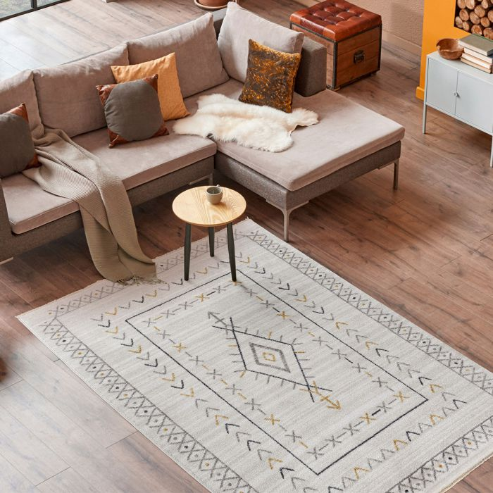 Designer Kurzflor Teppich Boho Harmony MI2300
