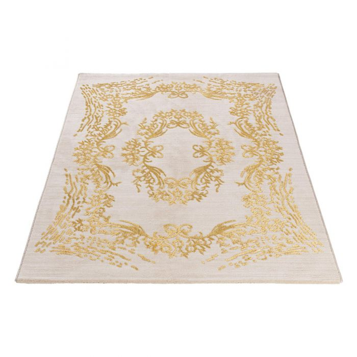 Designer Teppich Elite Gold in Beige M705