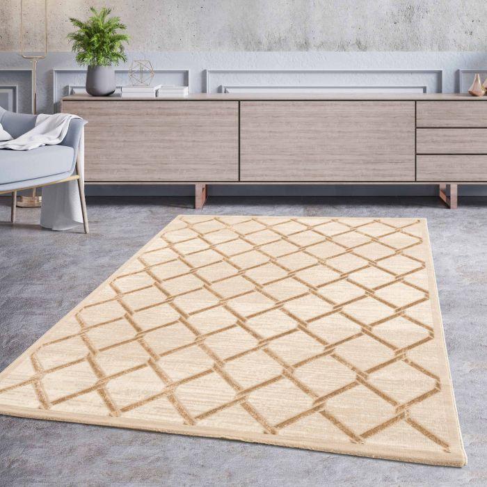Luxus Wohnzimmerteppich Dream in Beige M700J