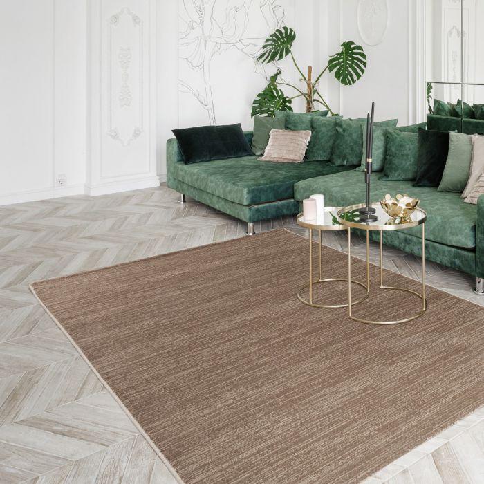 Teppich Leonis Meliert Braun MY4121