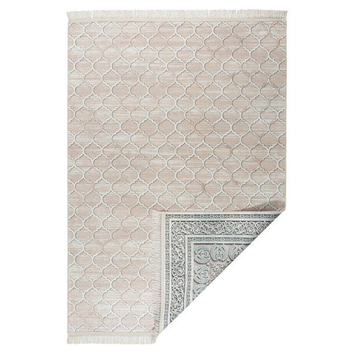 2-Face-Beidseitige-Teppiche Waschbarer Teppich BEIDSEITIG verwendbar in Beige in Modern   Klassik MY211