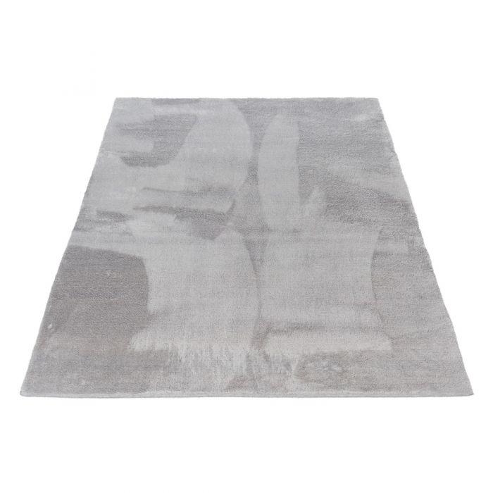 Waschbarer Fellteppich Classy Silber M120