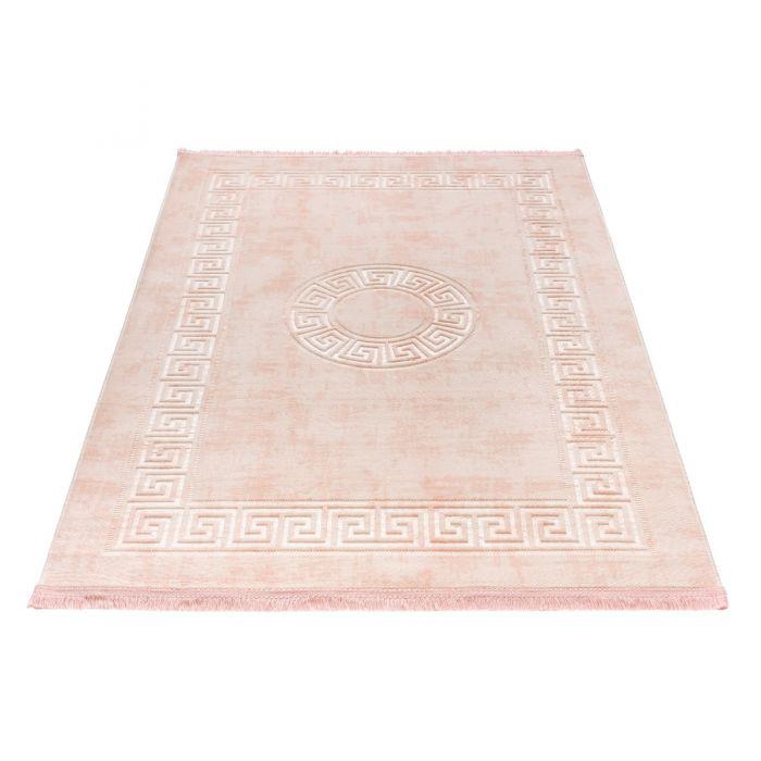 Waschbarer Teppich Apollon Rose 1903
